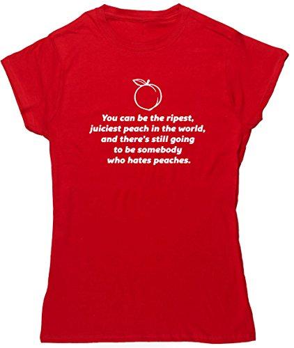 HippoWarehouse Damen T-Shirt X-Large Rot