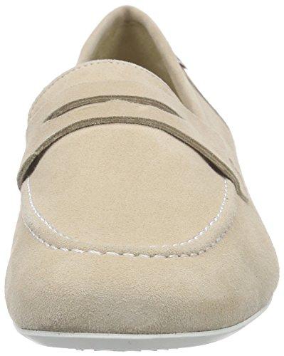 Mephisto Florence Velcalf Premium 12212 Light Sand, Mocassins Femme beige (LIGHT SAND)