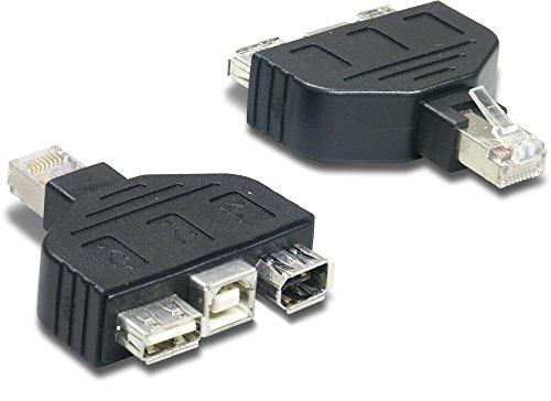 Trendnet Usb Kabel (Trendnet TC-NTUF USB-FireWire-Adapter für TC-NT2 schwarz)
