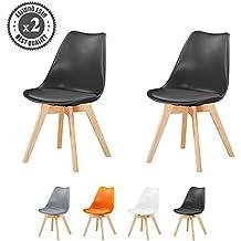 MCC Lot De 2 Chaises Du Style DSW Inspire Par Eames Salle A