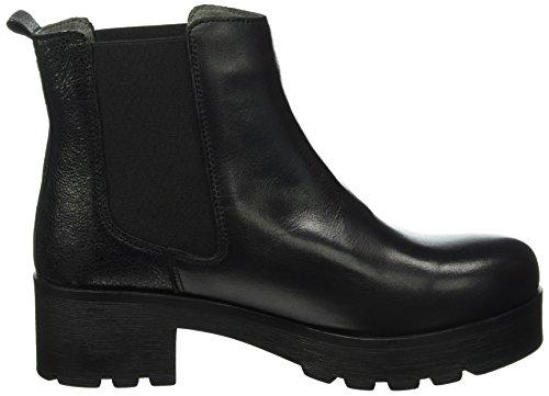 SHOOT - Shoot Shoes Sh-216026h, Stivali a metà polpaccio con imbottitura leggera Donna Nero (Nero (nero))