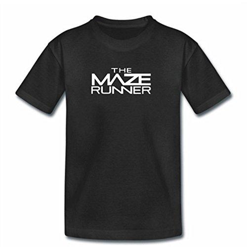 """Kinder-T-Shirt mit Aufschrift """"Maze Runner"""", Schwarz  Gr. Small, schwarz"""