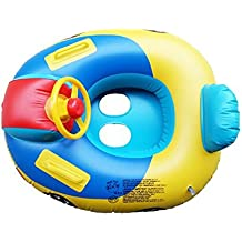 Inflatable Car Swimming Ring Lianshi Baby Pool Boat para niños para niños