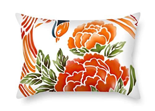 Slimmingpiggy Taie d'Oreiller en Forme de Fleur pour lit d'extérieur GF Adolescents, siège de Bar 50 x 75 cm (Double côté)