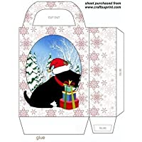 Cute Black Scottie Dog Gift bag 1 by Sharon Poore - Gift Bag Dog