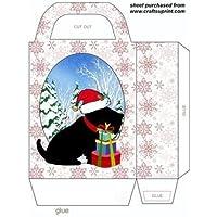 Cute Black Scottie Dog Gift bag 1by Sharon Poore - Gift Bag Dog