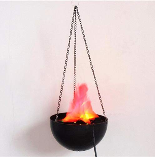 Lustige kreative LED-Flammen-Lampe mit künstlichem gefälschtem Feuer-Licht-Partei-Halloween-Dekorations-realistischem Effekt-Nachtlicht