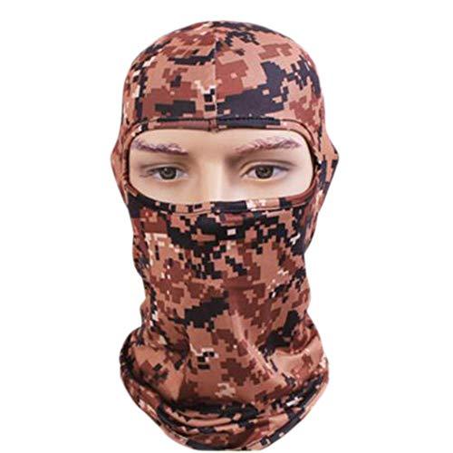 Bandeau solaire Camo Bandanas Masque facial - Coupe-vent extérieur résistant au vent-A11