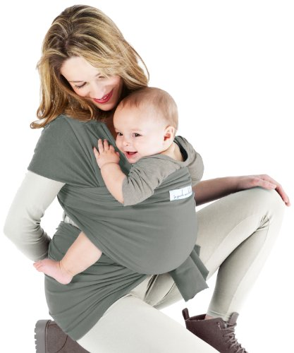 Price comparison product image Je Porte Mon Bébé La Basic Baby Sling Misty Green