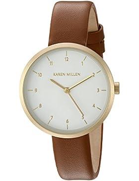 Karen Millen Damen-Armbanduhr Analog Quarz KM135TG