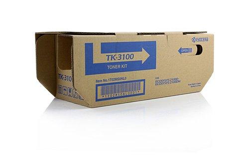 Preisvergleich Produktbild Original Toner passend für Kyocera ECOSYS M 3040 dn Kyocera TK3100 , TK-3100 02MS0NL0 , 0T2MS0NL , 1T02MS0NL0 , 2MS0NL0 , T2MS0NL - Premium Drucker-Kartusche - Schwarz - 12.500 Seiten