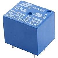 SRD-12VDC-SL-C DC 12V Spulenspannung 5 Pins Leistungsrelais Blau