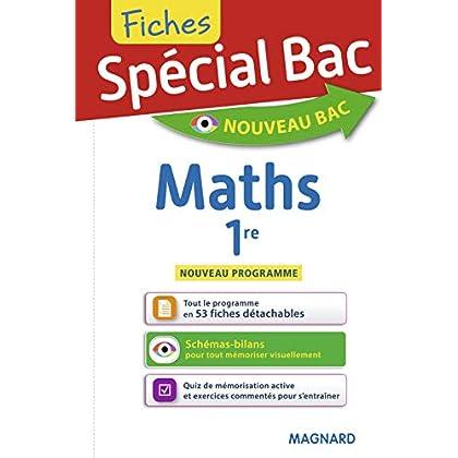 Fiches Maths 1re