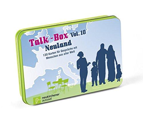 Talk-Box Vol. 10 - Neuland: 120 Karten für Gespräche mit Menschen aus aller Welt Integration Box