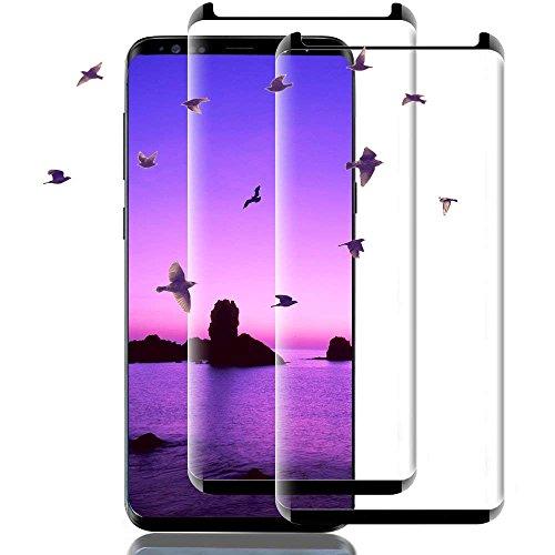 my-handy-design Galaxy S8 Panzerglas Schutzfolie, 2 Stück Panzerglasfolie für Samsung S8, Samsung Galaxy S8 Displayschutzfolie, 9H Härtegrad Anti-Kratzer für Samsung Galaxy S8