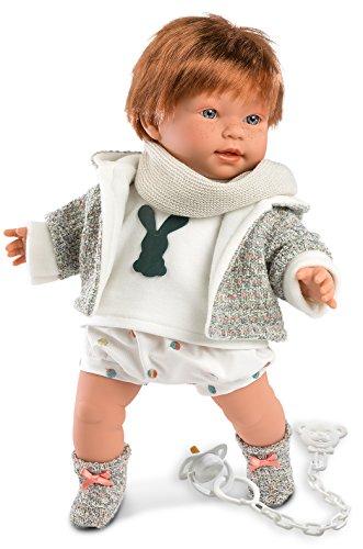 Llorens 42333 Kristian Puppe, 42 cm (Porzellan Hübsches Puppen)
