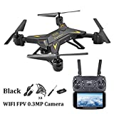 Juan Drone with Camera, WiFi 1080P HD Camera Live Video & GPS Return Home 2.4GHz 4 CH 4 Axis Gyro RTF RC Quadcopter- Follow Me, Altitude Hold, Long Control Distance, With Built-in Battery