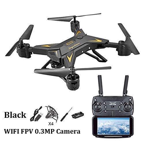 2.4Ghz Folding Aerial Drone Photo, Altitude Hold 4 canali 4 canali Aircraft, WIFI Trasmissione immagini Live Video Durata batteria, Batteria incorporata per bambini e principianti
