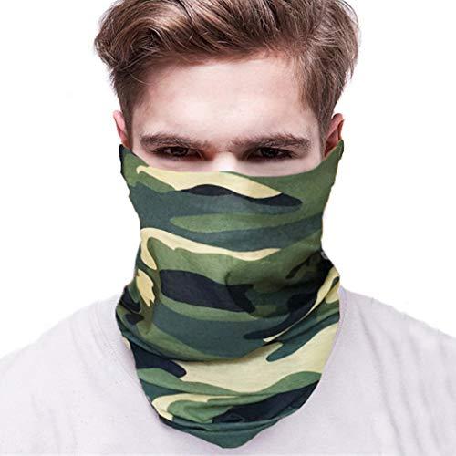 tifunktions-Magisches Stirnband Camouflage Nahtloses Bandana Schal UV Beständigkeit Sport Kopfbedeckung e ()