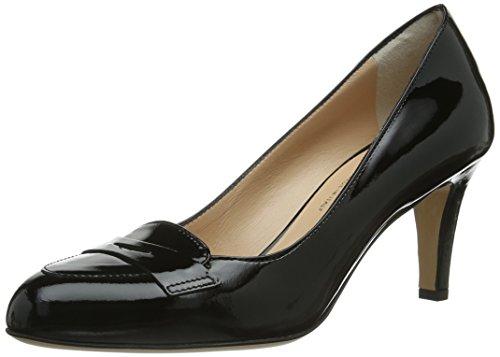 Evita Shoes Pumps geschlossen, Damen Pumps, Schwarz (Schwarz), 39 EU (5.5 Damen UK)