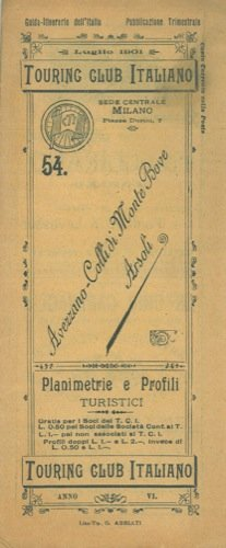 Avezzano - Colli di Monte Bove - Arsoli. n° 54