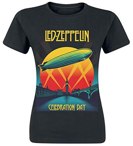 Led Zeppelin Celebration Day Camiseta Negro S