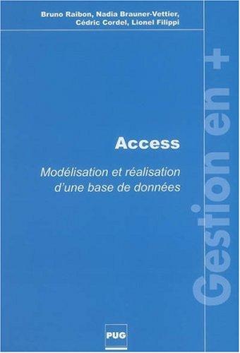 Access : Modélisation et réalisation d'une base de données