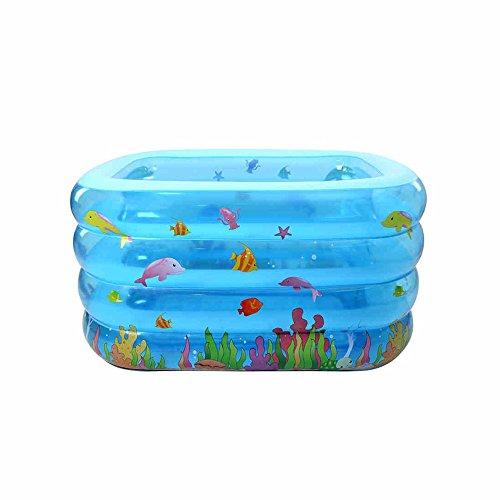 Lxf vasca da bagno gonfiabile bambini piscina gonfiabile pieghevole gonfiabili vasca da bagno viaggi portable