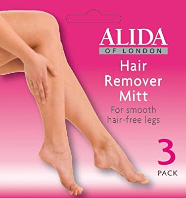 Alida hair Remover Mitt - 3 pack