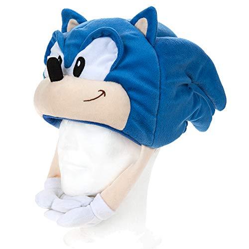 The Kostüm Hedgehog Sonic - Sonic the Hedgehog 467150 Plüsch, weich, Spielzeug, Mehrfarbig