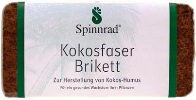 Spinnrad Brique de coco