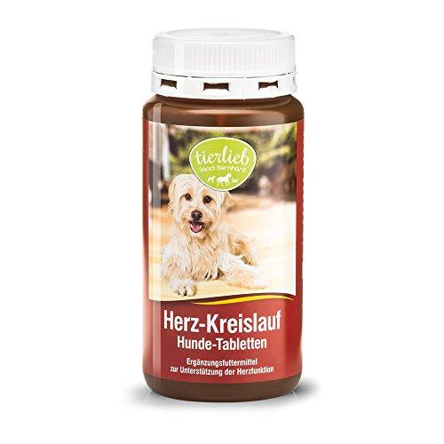 Herz-Kreislauf Hunde-Tabletten mit Carnitin und Taurin, Inhalt 180 Tabletten