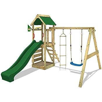 Spielturm mit Schaukel und Rutsche von Wickey