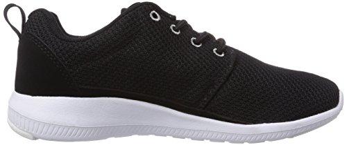 Kappa SPEED II Unisex-Erwachsene Sneakers Schwarz (1116 black/grey)