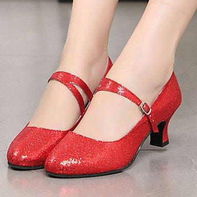 Wuyulunbi @ Women Glitter Sparkling Sneaker Hebilla De Interior Bajo Talón Oro Negro Plata Rojo Azul Us7.5 / Eu38 / Uk5.5 / Cn38