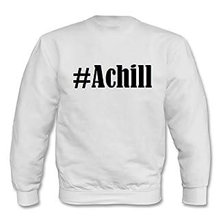 Reifen-Markt Sweatshirt Damen #Achill Größe 2XL Farbe Weiss Druck Schwarz