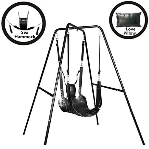 PURELOVEE Bondage Stuhl Unterstützung Leder Sling Fetisch Schaukel Erwachsene Hängematte Sex Maschine Folter Slave Spiel Spielzeug -