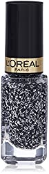 LOreal Paris Color Riche Les Vernis Nail Polish (Top Coat) 5ml with Ayur Product in Combo (918-Coco Tweed)