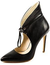 Berlin - Zapatillas de Cuero para Mujer, Color Negro, Talla 40 Fersengold
