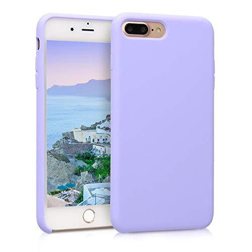 kwmobile Apple iPhone 7 Plus / 8 Plus Hülle - Handyhülle für Apple iPhone 7 Plus / 8 Plus - Handy Case in Lavendel