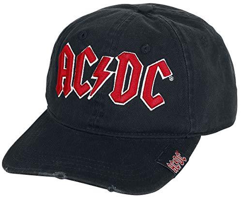 AC/DC Logo Casquette Baseball noir