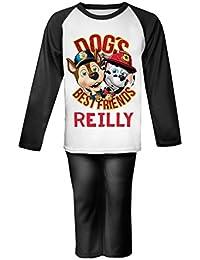Perros mejor amigo personalizada pijama infantil pijama infantil personalizado Pjs patrulla Navidad regalos Kids PAW bombero