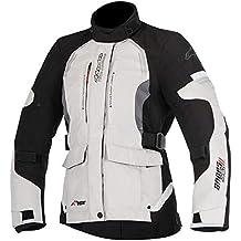 d6d9908c1c2 Alpinestars – Chaqueta de moto STELLA Andes V2 DRYSTAR Chaqueta gris claro  Negro Gris ...