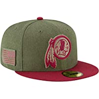 632e40af1 New Era Washington Redskins On Field 18 Salute to Service Cap 59fifty 5950  Fitted Limited Edition