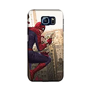 Samsung Galaxy S6 Edge Designer Printed Case & Covers (Samsung Galaxy S6 Edge Back Cover) - Superhero Spiderman