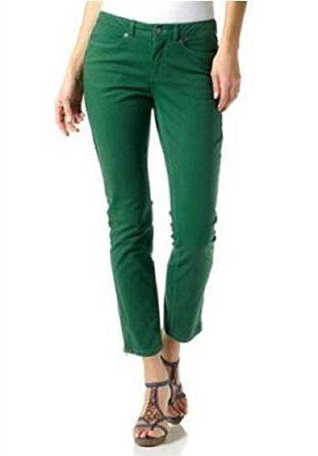 Pantaloni Forma a tubo di Laura Scott verde Verde