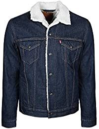 Levi's Type 3 Sherpa Trucker, Giacca in Jeans Uomo