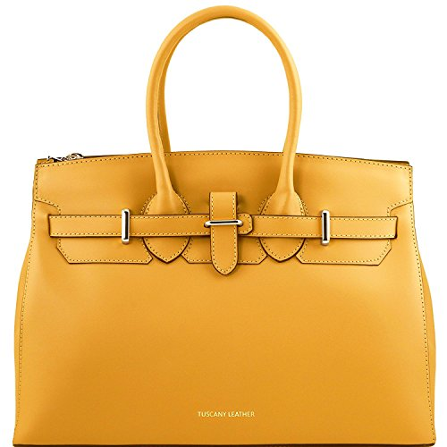 tuscany-leather-elettra-sac-a-main-pour-femme-en-cuir-ruga-avec-finitions-couleur-or-tl141548-jaune