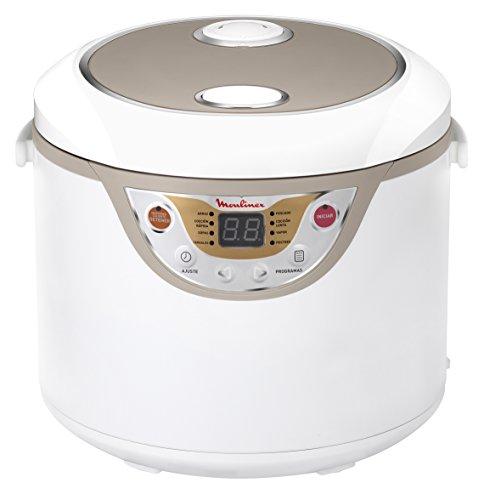 Moulinex Robot Maxichef-Robots de Cocina (8 programas automáticos, Capacidad de 3,5 litros, tecnología de micropresión), Blanco, 3.5 litros