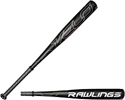 Rawlings Men's Senior League Velo Baseball Bat, Black, 32-inch27-ounce